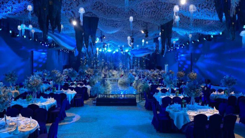 婚礼堂发布:衢州沉浸式百万婚礼堂喜呈厅正式启用  第1张
