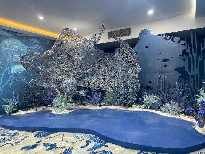 婚礼堂发布:衢州沉浸式百万婚礼堂喜呈厅正式启用  第2张