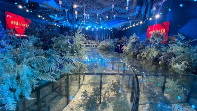 婚礼堂发布:衢州沉浸式百万婚礼堂喜呈厅正式启用  第4张