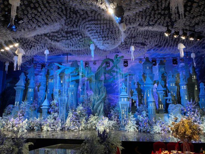 婚礼堂发布:衢州沉浸式百万婚礼堂喜呈厅正式启用  第5张