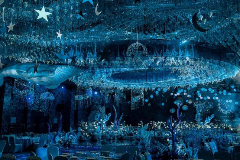 婚礼堂发布:5万方!湖北大型连锁餐饮打造宴会厅  第3张