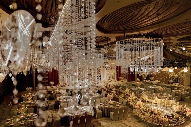 婚礼堂发布:5万方!湖北大型连锁餐饮打造宴会厅  第5张