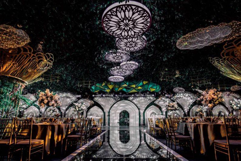 婚礼堂发布:5万方!湖北大型连锁餐饮打造宴会厅  第7张