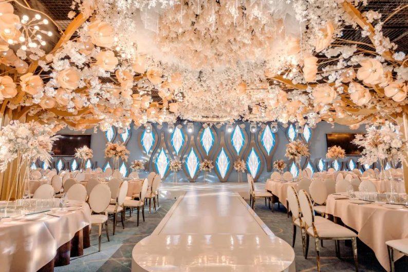 婚礼堂发布:5万方!湖北大型连锁餐饮打造宴会厅  第9张