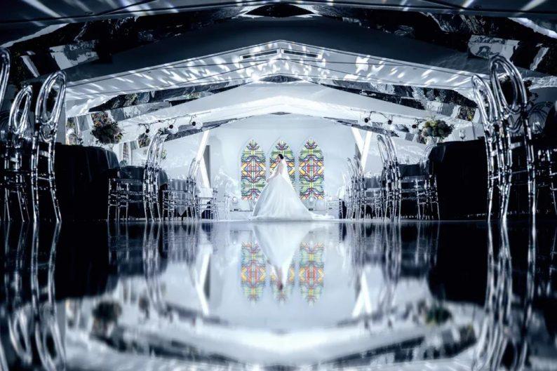 婚礼堂发布:5万方!湖北大型连锁餐饮打造宴会厅  第13张
