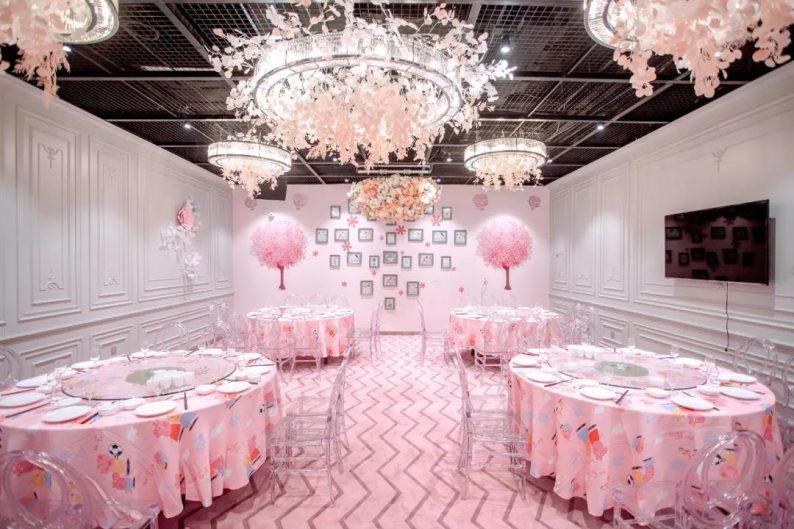 婚礼堂发布:5万方!湖北大型连锁餐饮打造宴会厅  第16张