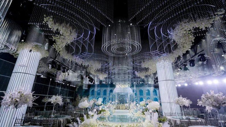 婚礼堂发布:2万方,投资1.7亿!怀化半岛国际酒店婚礼堂启航  第6张