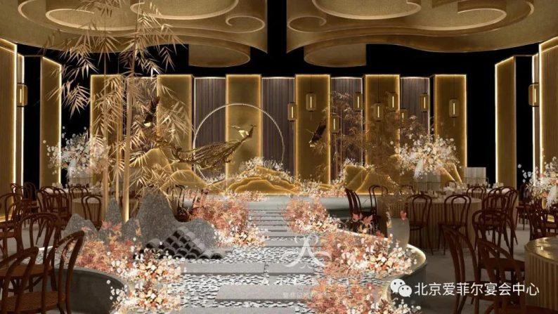 婚礼堂发布:5大宴会厅!北京爱菲尔婚礼堂即将开业  第2张