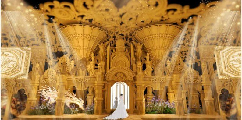 婚礼堂发布:4000平4个主题厅!俏湘浔引领九江宴会新风向  第3张