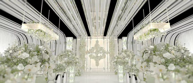 婚礼堂发布:4000平4个主题厅!俏湘浔引领九江宴会新风向  第6张
