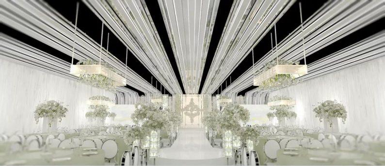 婚礼堂发布:4000平4个主题厅!俏湘浔引领九江宴会新风向  第7张