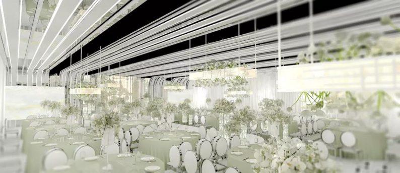 婚礼堂发布:4000平4个主题厅!俏湘浔引领九江宴会新风向  第8张