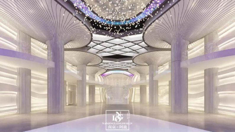 阿龙:另类宴会设计代表作,现代艺术宴会厅建筑与软装完美结合