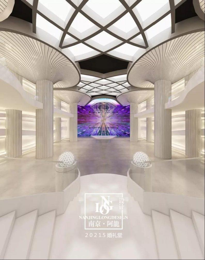 阿龙:另类宴会设计代表作,现代艺术宴会厅建筑与软装完美结合  第4张