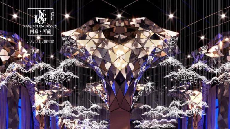 阿龙:另类宴会设计代表作,现代艺术宴会厅建筑与软装完美结合  第6张