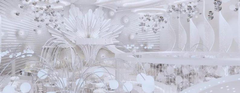 阿龙:另类宴会设计代表作,现代艺术宴会厅建筑与软装完美结合  第8张