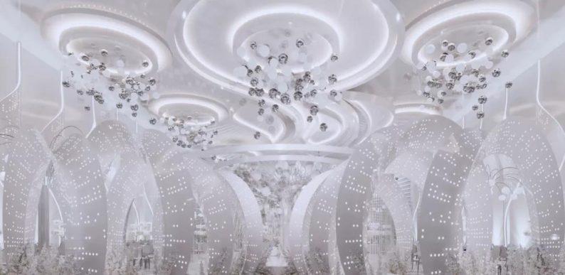 阿龙:另类宴会设计代表作,现代艺术宴会厅建筑与软装完美结合  第10张