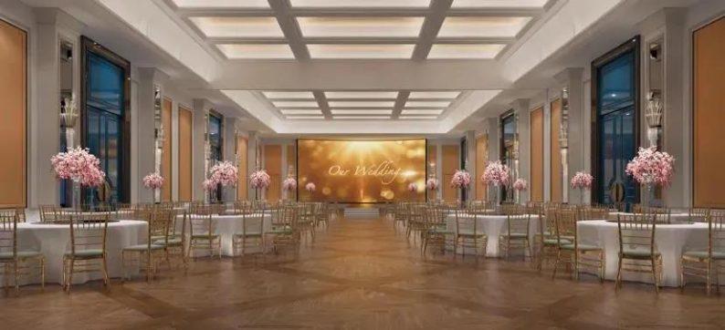 婚礼堂发布:4大宴会厅!合肥飞龙大酒店主题宴会即将亮相  第2张