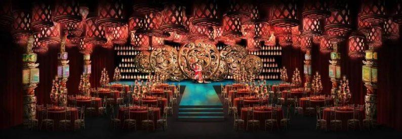 婚礼堂发布:蔡上操刀!8000平民生尊府打造陕西宴会标杆  第8张
