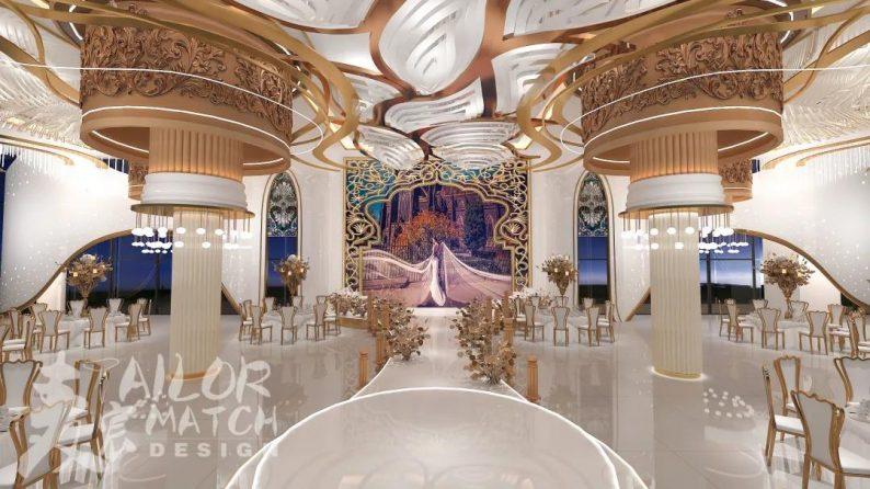 婚礼堂发布:麦宸出品!重庆酉阳桃花源度假酒店  第9张