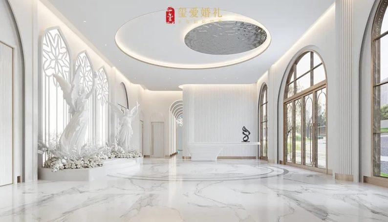 婚礼堂发布:2万方!田水湾•玺爱婚礼庄园打造6大宴会厅