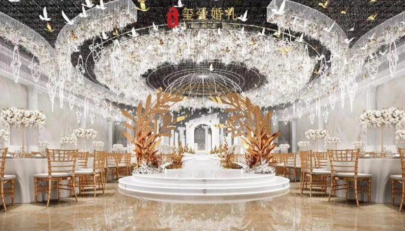 婚礼堂发布:2万方!田水湾•玺爱婚礼庄园打造6大宴会厅  第4张