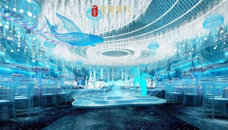 婚礼堂发布:2万方!田水湾•玺爱婚礼庄园打造6大宴会厅  第5张