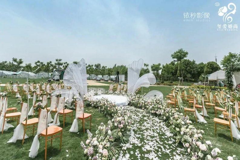 婚礼堂发布:2万方!田水湾•玺爱婚礼庄园打造6大宴会厅  第7张