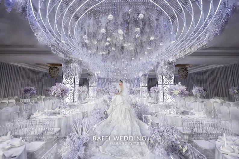 婚礼堂发布:芭菲婚礼全新4大色系宴会厅