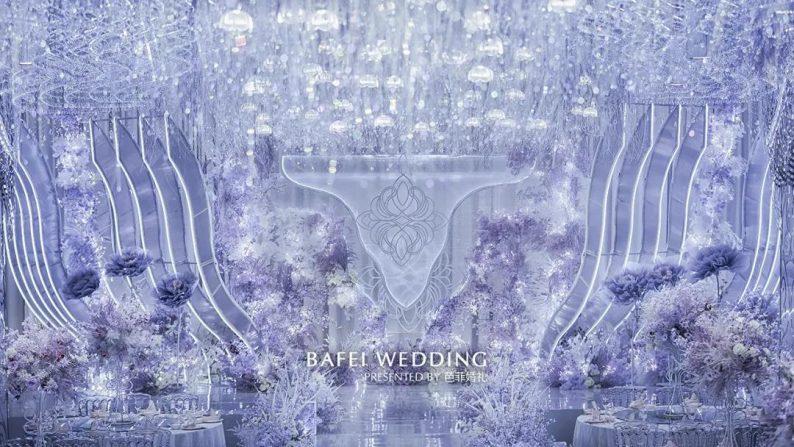婚礼堂发布:芭菲婚礼全新4大色系宴会厅  第2张