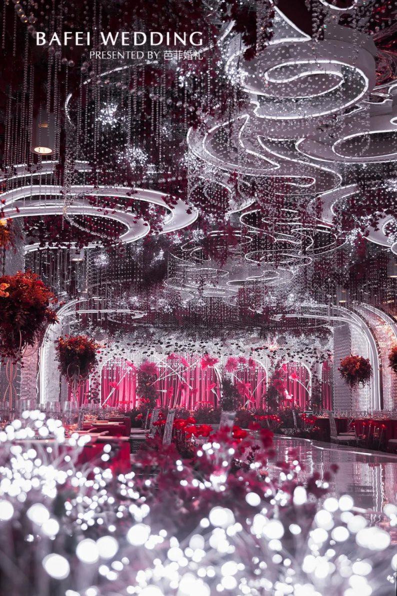 婚礼堂发布:芭菲婚礼全新4大色系宴会厅  第5张
