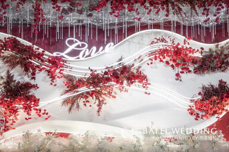 婚礼堂发布:芭菲婚礼全新4大色系宴会厅  第6张