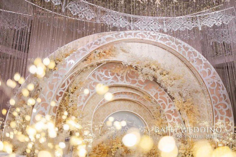 婚礼堂发布:芭菲婚礼全新4大色系宴会厅  第7张