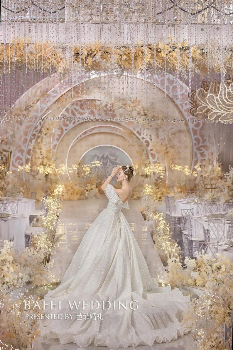 婚礼堂发布:芭菲婚礼全新4大色系宴会厅  第8张