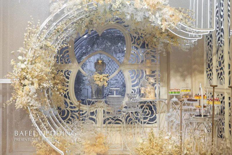 婚礼堂发布:芭菲婚礼全新4大色系宴会厅  第10张