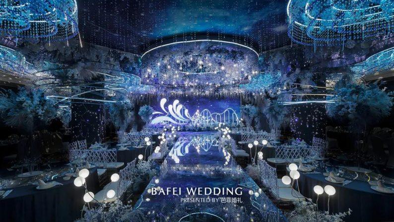 婚礼堂发布:芭菲婚礼全新4大色系宴会厅  第11张