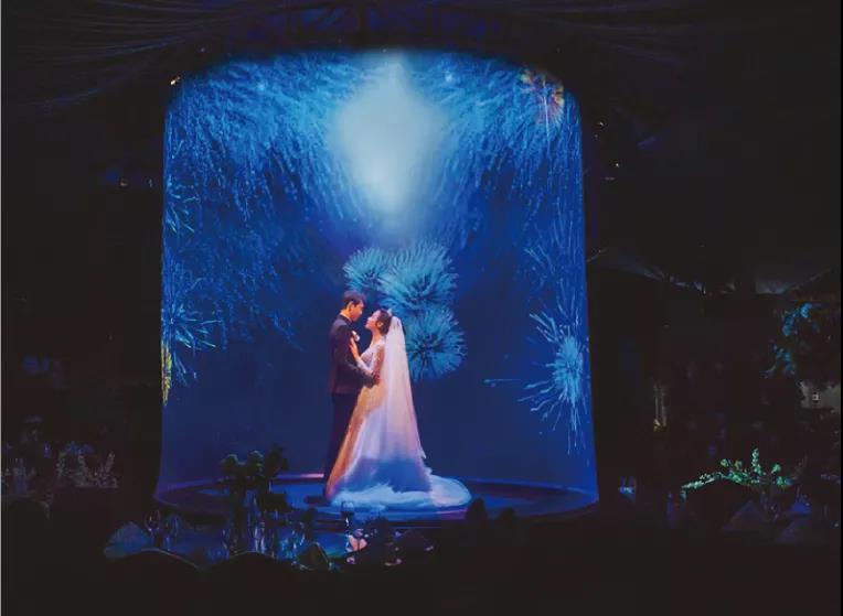 婚礼堂发布:斥资百万、5D沉浸式!苏州吴江宝藏级宴会中心  第6张