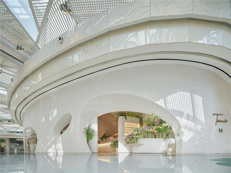 上海品牌餐厅「花厨」空间美学解读!  第1张