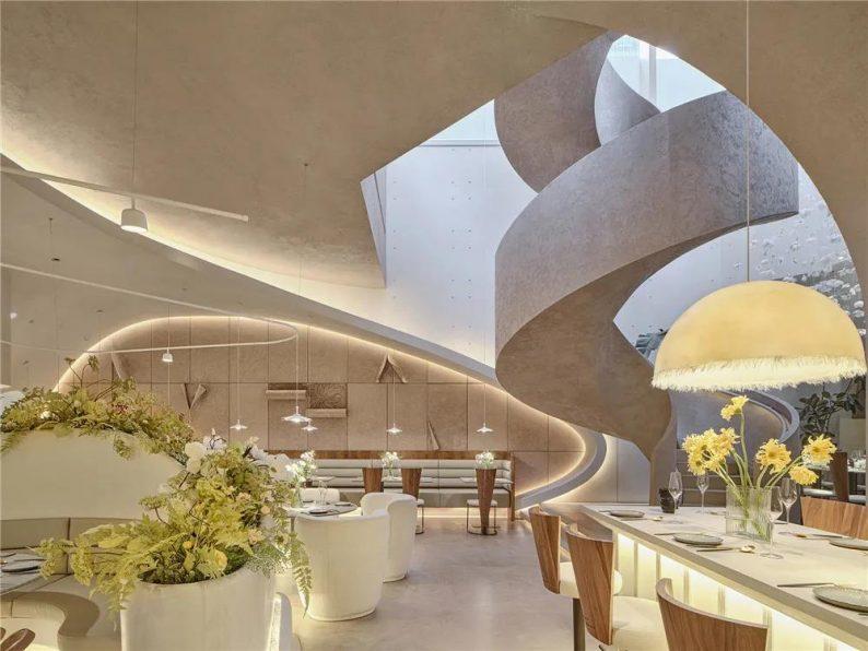 上海品牌餐厅「花厨」空间美学解读!  第2张
