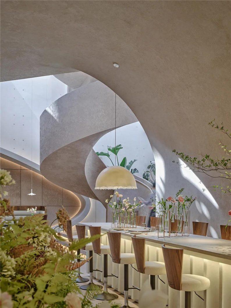 上海品牌餐厅「花厨」空间美学解读!  第4张