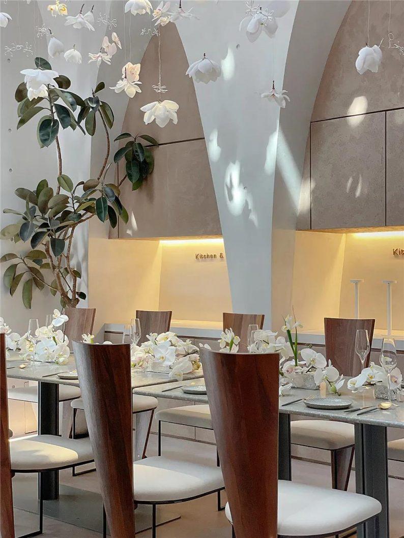上海品牌餐厅「花厨」空间美学解读!  第7张