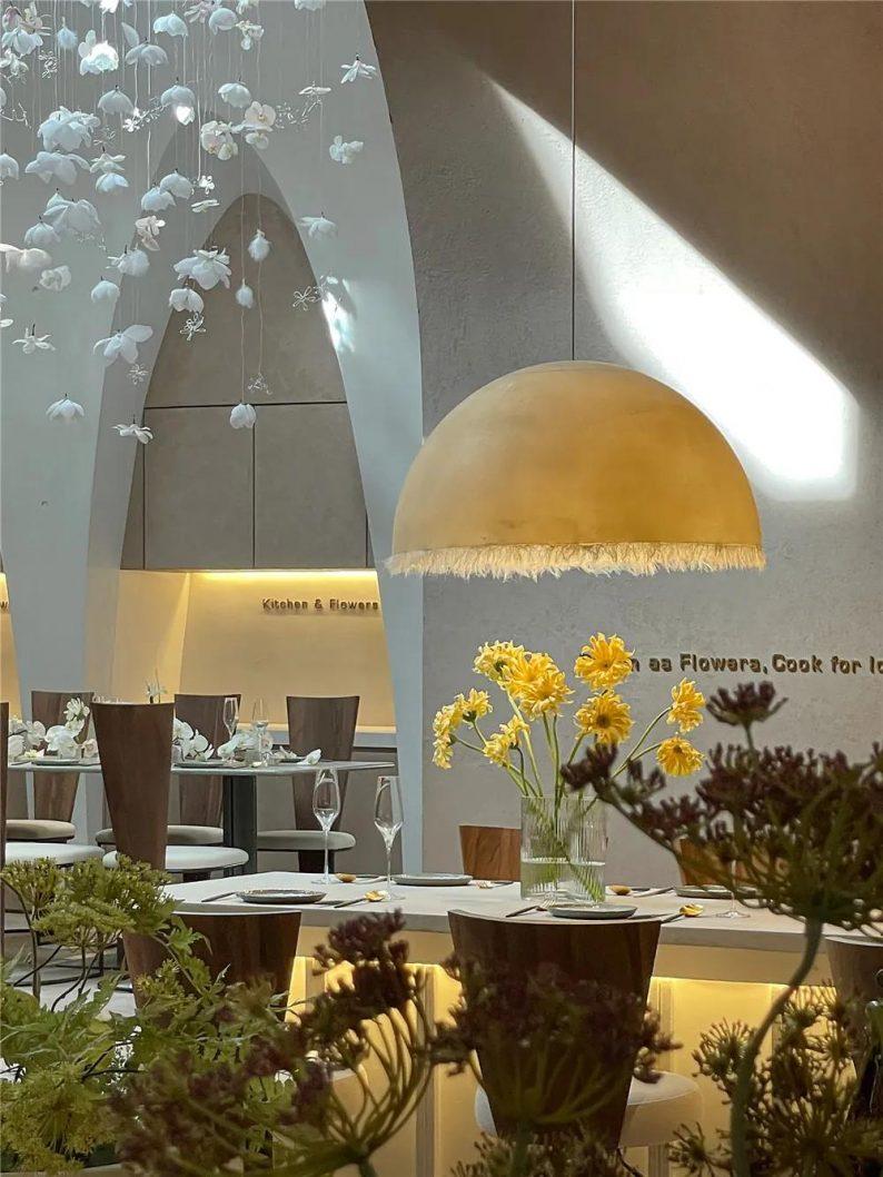上海品牌餐厅「花厨」空间美学解读!  第8张