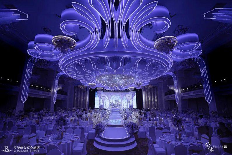 婚礼堂发布:8000平8大宴会厅!宁波婚礼堂产业的先行者「罗曼丽舍」  第7张
