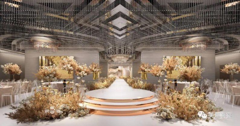 婚礼堂发布:5大宴会厅!太原大型主题婚礼酒店即将开业  第6张