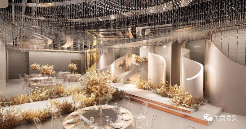 婚礼堂发布:5大宴会厅!太原大型主题婚礼酒店即将开业  第7张