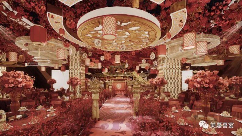 婚礼堂发布:5大宴会厅!太原大型主题婚礼酒店即将开业  第10张