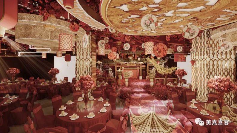 婚礼堂发布:5大宴会厅!太原大型主题婚礼酒店即将开业  第11张