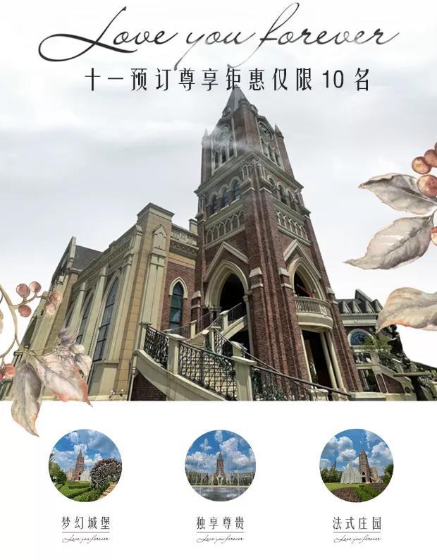 婚礼堂发布:城堡建筑+法式庄园,湖南艾利安娜摩玛礼堂  第2张
