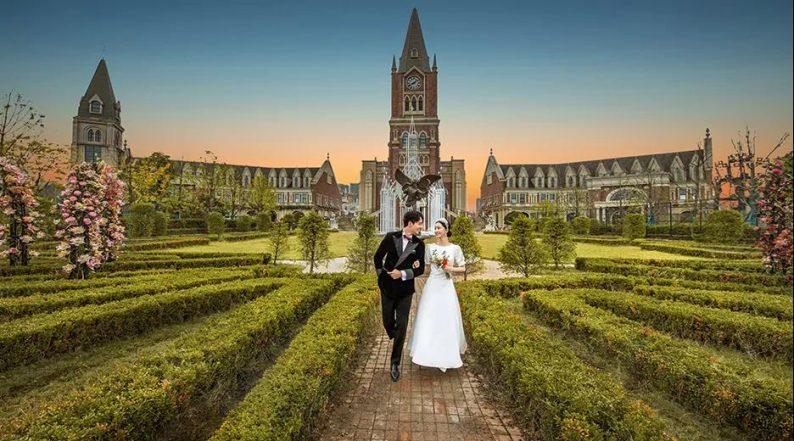 婚礼堂发布:城堡建筑+法式庄园,湖南艾利安娜摩玛礼堂  第3张