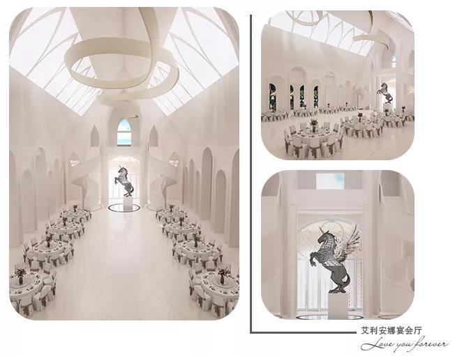 婚礼堂发布:城堡建筑+法式庄园,湖南艾利安娜摩玛礼堂  第5张